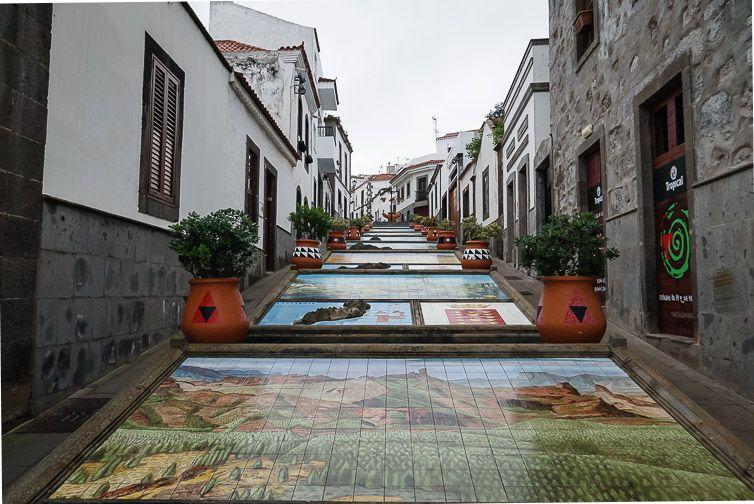 Firgas - Paseo de Canarias