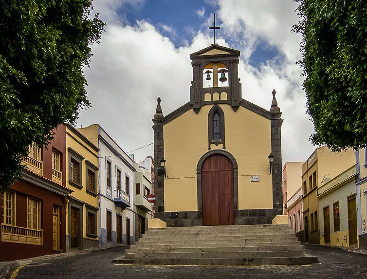 Ermita de San Roque en Santa María de Guía